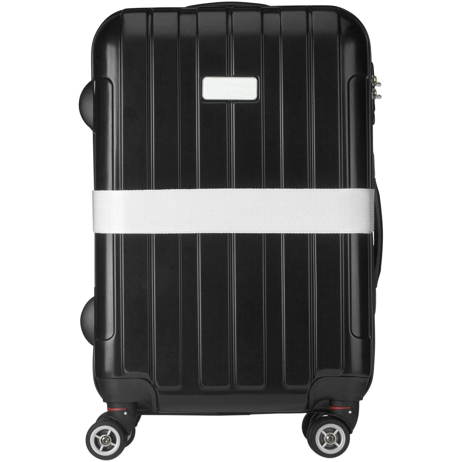 Saul suitcase strap - White
