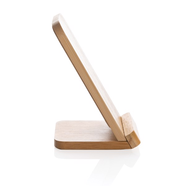Bamboo 5W wireless charging stand