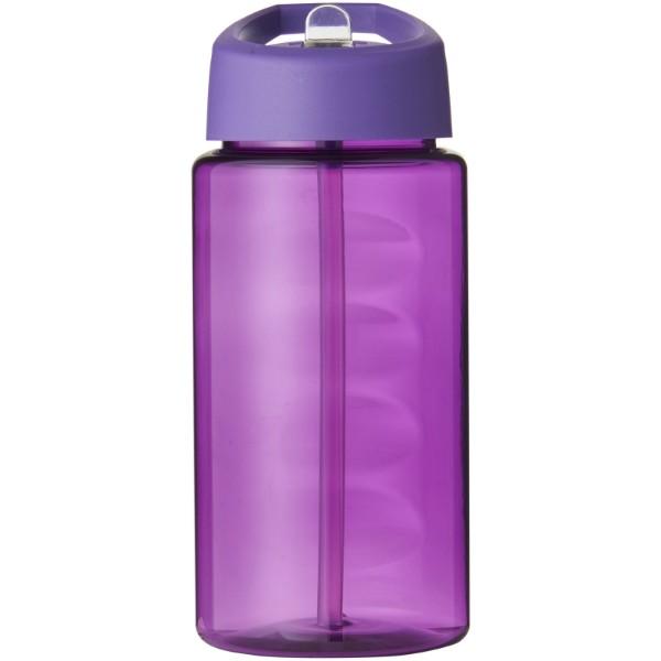 Sportovní láhev svíčkem shubičkou H2O Bop 500 ml - Purpurová