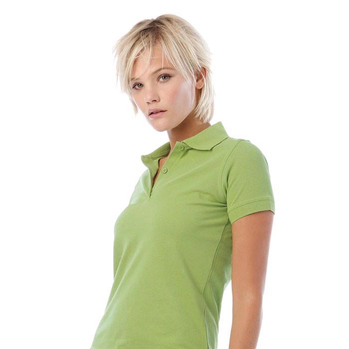 Ladies Polo Shirt 180 g/m2 Safran Pure Women Polo Pw455 - Pistachio / XL