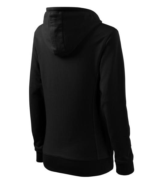 Sweatshirt women's Malfini Kangaroo - Black / Black / S