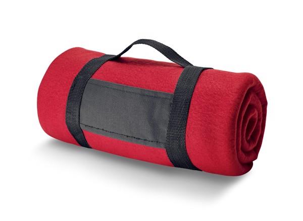 THORPE. Polar blanket 180 g/m² - Red