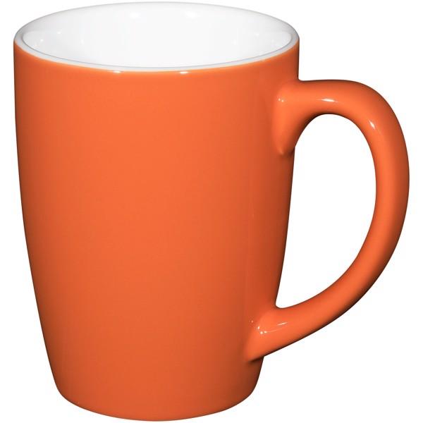 Kubek ceramiczny Mendi 350 ml - Pomarańczowy