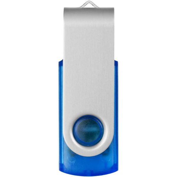 Rotační průsvitné USB - Modrá / 2GB