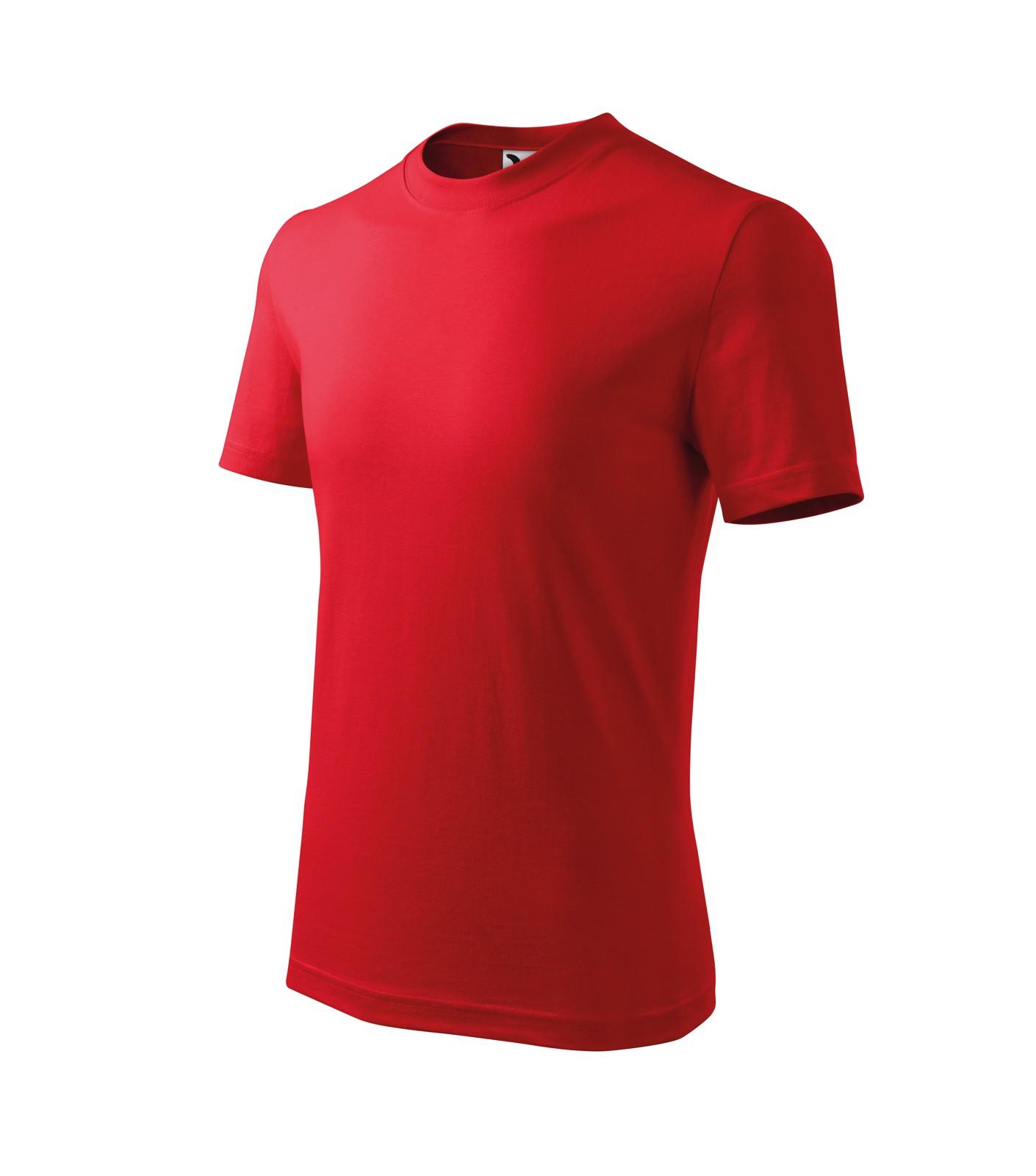 Tričko dětské Malfini Basic - Červená / 158 cm/12 let