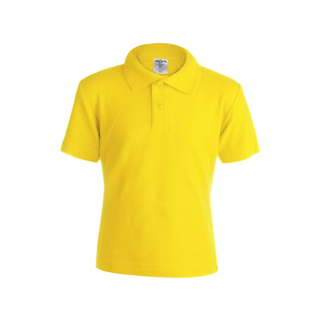"""Polo Criança Côr """"keya"""" YPS180 - Amarelo / L"""
