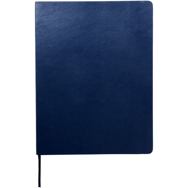 Classic XL soft cover notebook - plain - Sapphire blue