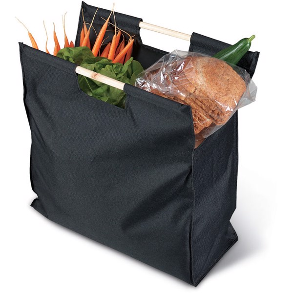 Shopping bag Mercado - Black