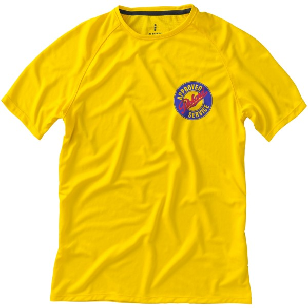 Niagara short sleeve men's cool fit t-shirt - Yellow / XL